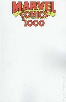 Marvel Comics #1000 Blank Variant NM 2019 Stock Image