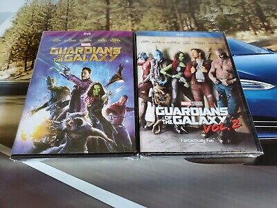 Guardians of the Galaxy 1 and 2 DVD 2-Movies Bundle Brand New!