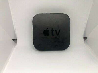 Used Apple TV Box A1469 3rd Generation 8GB Black Media Hd Streamer- No Remote !