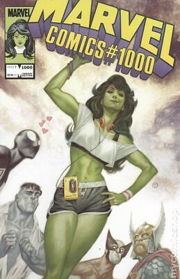 Marvel Comics #1000 Tedesco Variant NM 2019 Stock Image