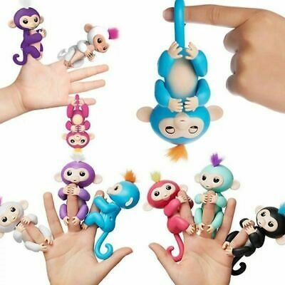 Finger Baby Monkey Lings Kids Electronic Interactive Finger Robot Pet Toy
