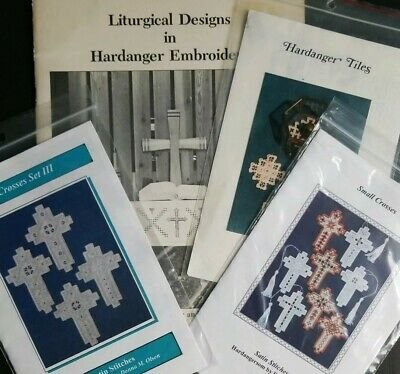 Christian Religious Hardanger Embroidery Patterns Liturgical Designs