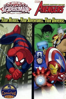 Marvel Universe Avengers and Ultimate Spider-Man #1 VF 2012 Stock Image