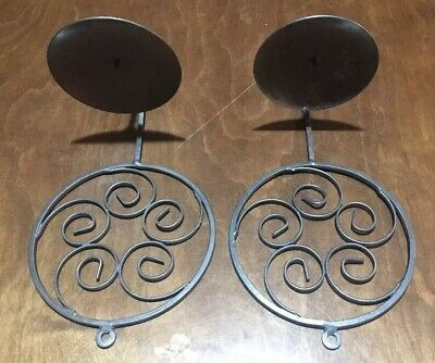 Bronze Wall Sconce candle holders in VERY good condition