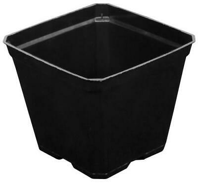 25 lot  Gro Pro®  4x4 Square Plastic Pot SAVE $$ And space free shipping