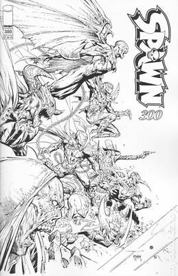 Spawn #300P Opena B&W Variant NM 2019 Stock Image