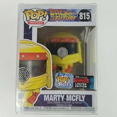 Funko Pop Back To The Future Marty Mcfly NYCC 2019 Fall Convention Limited