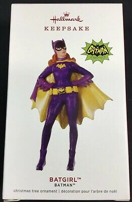 2019 Hallmark Keepsake Ornament Limited Edition Batgirl Batman Classic Tv Series