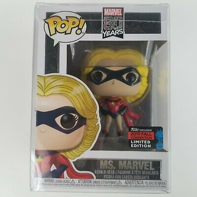 Funko Pop Marvel 80 Years Ms. Marvel NYCC 2019 Fall Convention Limited Edition