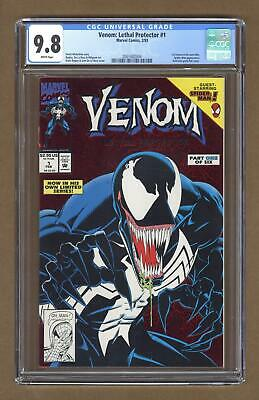 Venom Lethal Protector 1A Red Foil Variant CGC 9.8 1993 2001682004