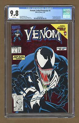 Venom Lethal Protector 1A Red Foil Variant CGC 9.8 1993 2001682005
