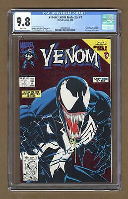 Venom Lethal Protector 1A Red Foil Variant CGC 9.8 1993 2001682006