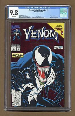 Venom Lethal Protector 1A Red Foil Variant CGC 9.8 1993 2001682007