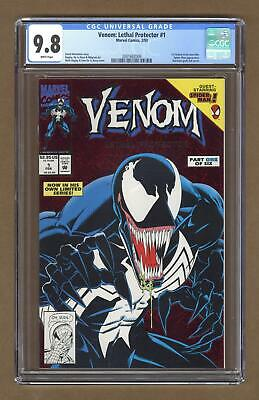 Venom Lethal Protector 1A Red Foil Variant CGC 9.8 1993 2001682009