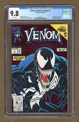 Venom Lethal Protector 1A Red Foil Variant CGC 9.8 1993 2001682013