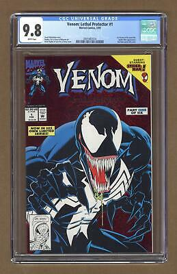 Venom Lethal Protector 1A Red Foil Variant CGC 9.8 1993 2001682014