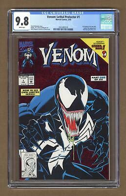 Venom Lethal Protector 1A Red Foil Variant CGC 9.8 1993 2001682018