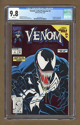 Venom Lethal Protector 1A Red Foil Variant CGC 9.8 1993 2001682023