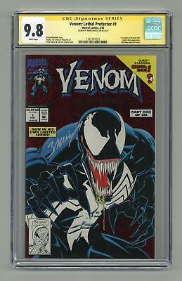Venom Lethal Protector 1A Red Foil Variant CGC 9.8 SS 1993 1323197023