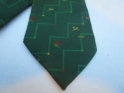 ENGLAND Vs SOUTH AFRICA 2000 RUGBY TIE