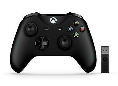 Microsoft Xbox Controller and Wireless Adapter for Windows 10 Black