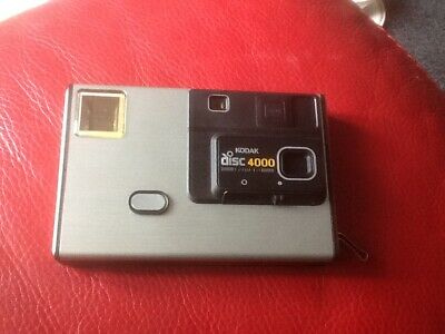 Kodak Disc 4000 Camera with pouch