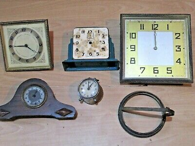Collection Of Clocks For Spares Or Repairs - Lot 3