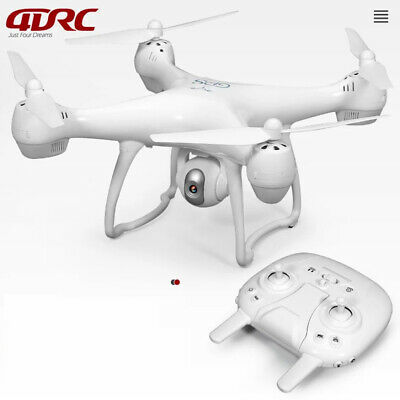 4DRC A8 RC Drone with 5G WiFi 1080p Camera GPS FPV Quadcopter 1000m WHITE