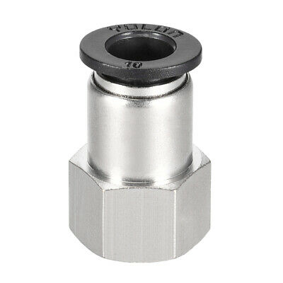 Push to Connect Tube Fitting Adapter 10mm OD x 3/8 NPT Straight Connecter
