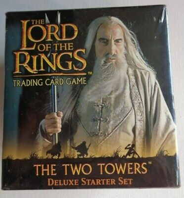 The Lord Of The Rings Trading Card Game: The Two Towers Deluxe Starter Set   O!O