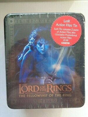 Lord Of The Rings Fellowship Of The Ring Action Flipz Tin                    O!O