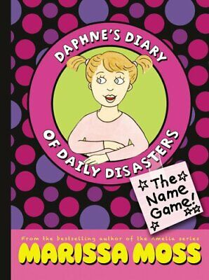 Complete Set - Lot of 3 Daphne's Diary of Daily Disasters books by Marissa Moss
