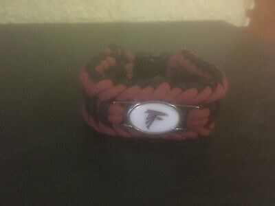 NFL Football Paracord Bracelet Wrap Wristband