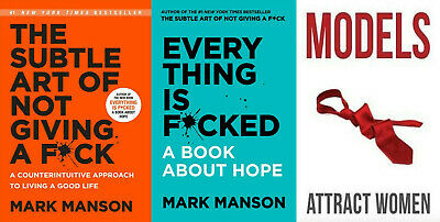 All 3 Mark Manson The Subtle Art of Not Giving a Fck + Everything is F ⚡ ᑭ.ᗪ.ᖴ ⚡