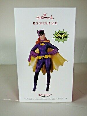 "2019 Limited Edition ""Batgirl"" Batman Hallmark Ornament"