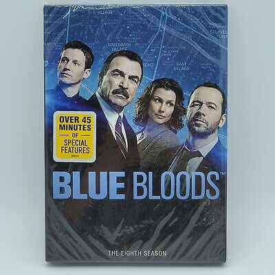Blue Bloods The Complete Eighth Season DVD New Sealed TV Series 6 Disc Set 15hrs