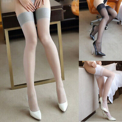 Hot Sexy Womens Lace Top Stay Up Thigh High Stockings Nightclubs Pantyhose New