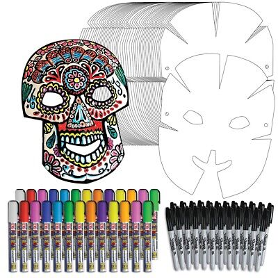 Day of the Dead Paper Mask Project Kit