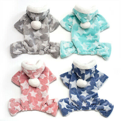 Pet Dog Hoodie Puppy Warm Coats Jacket Sweater Costume Winter Clothes Apparel AU