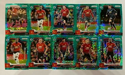 2019-20 Prizm EPL Premier League BREAKAWAY Teal #35 LOT 10 Manchester Fred Pogba