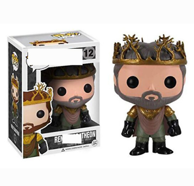 FUNKO POP Game of Thrones Renly Baratheon #12 Vinyl Figure NEW w/ Protector Box