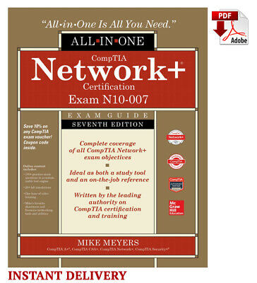 CompTIA Network+ Certification All-in-One Exam Guide, 7th 🔸📧(email delivery)🔸