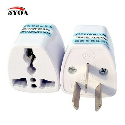 EU Universal Adapter to AU Wall Charger Travel 3 pin Converter Power Plug