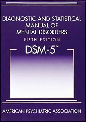 🔥DSM-5 Diagnostic and Statistical Manual Mental Disorders 🔥