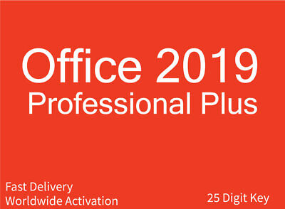 Microsoft Office Professional Plus 2019 Instant
