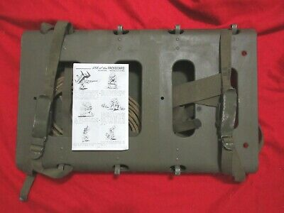 Us Army Ww2 Packboard 1945 Pack Board Original Never Used Never Issued