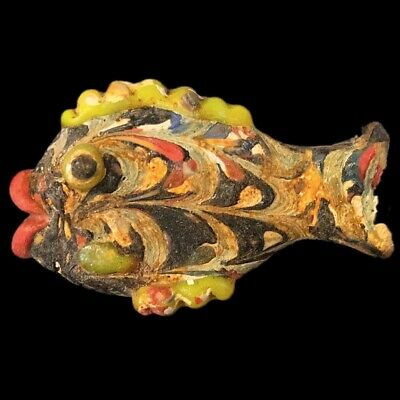 Very Rare Large Phoenician Glass Fish 300Bc Super Quality (4)