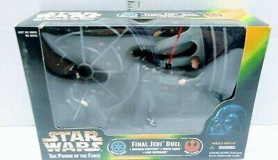 1997 Star Wars Power of the Force Final Jedi Duel Distressed Package