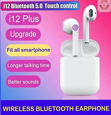 Wireless Bluetooth Earphones Headphones Earbuds for All Smartphone Touch Control
