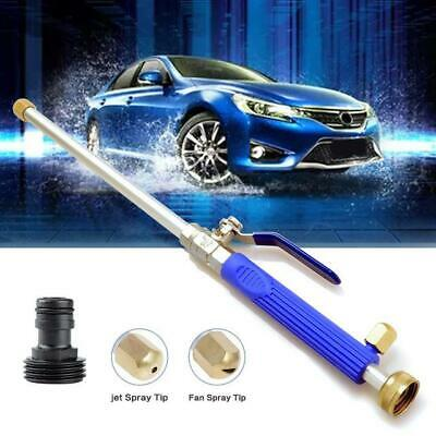 Aluminium High Pressure Power Washer Spray Nozzle Water Gun Hose + Wand Adapter
